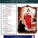 Visita de las reliquias de Santa Margarita María Alacoque, en Querétaro 16 y 17 de julio de 2018.
