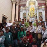 Misa VI Peregrinación de Acción de Gracias, Mons. Faustino.