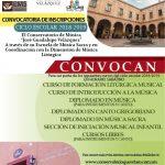 CONVOCATORIA DE INSCRIPCIONES, CICLO ESCOLAR 2018-2019.