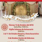 XI ANIVERSARIO DEL TEMPLO EXPIATORIO DIOCESANO (Carmelitas)